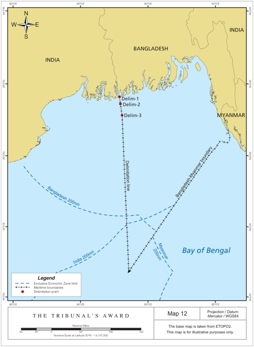 Bangladesh-India Delimitation (p163, Award)